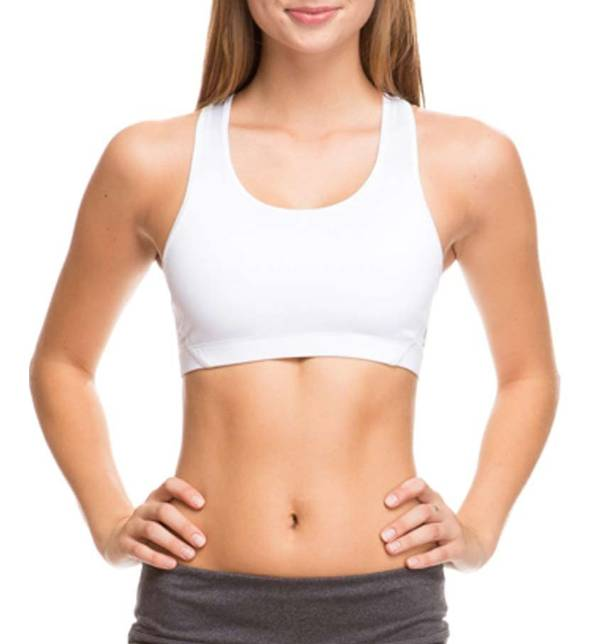 Soffe Juniors' Mid Impact Sports Bra product image