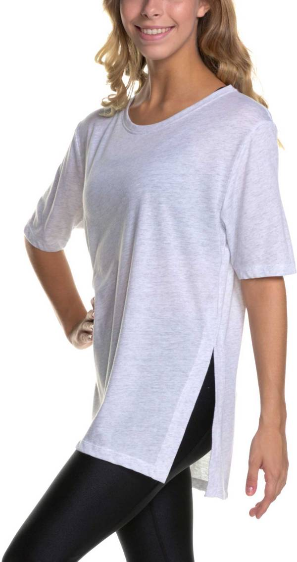 Soffe Junior Girls' Squad High Vent Tee product image