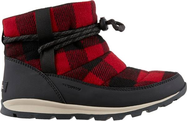 SOREL Women's Whitney Short Plaid 200g Waterproof Winter Boots product image
