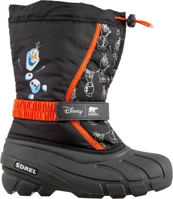 Disney x SOREL Kids' Flurry Frozen 2 Olaf Insulated Waterproof Winter Boots product image