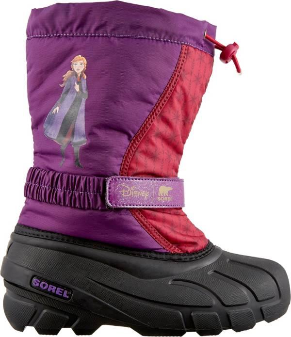 Disney x SOREL Kids' Flurry Frozen 2 Anna Insulated Waterproof Winter Boots product image