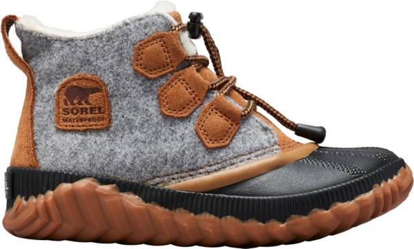 SOREL Kids' Out N About Plus Waterproof Winter Boots product image