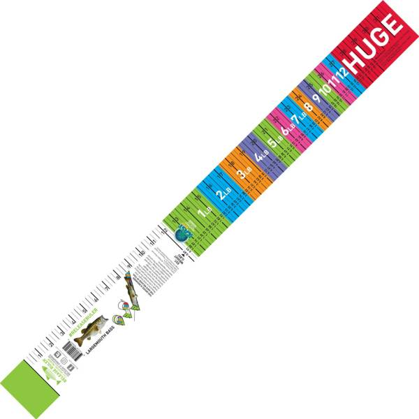 Release Ruler Largemouth Bass Decal Ruler product image