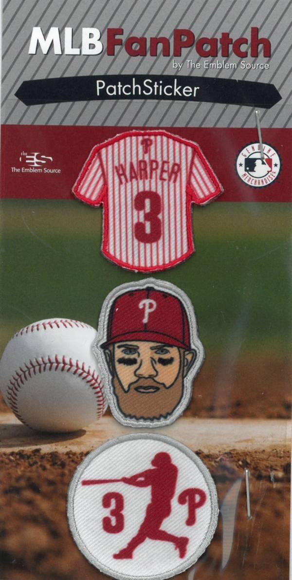 The Emblem Source Philadelphia Phillies Bryce Harper Patch Sticker Set product image