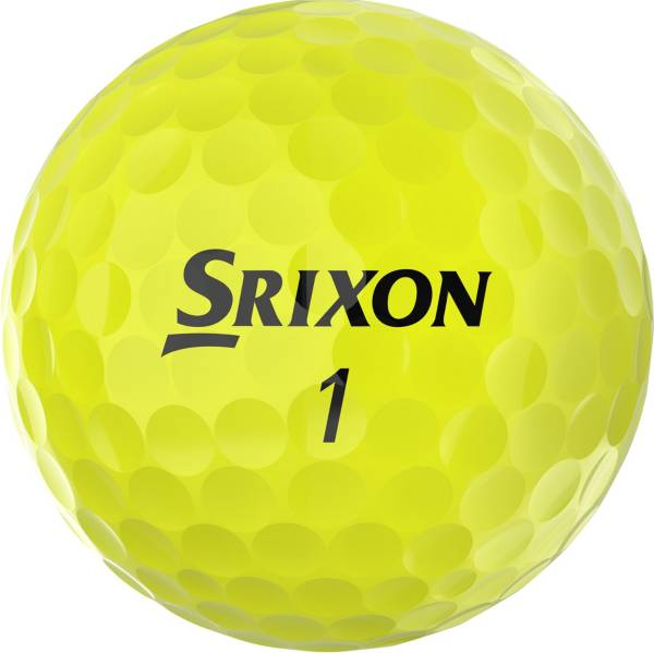 Srixon 2020 Q-STAR TOUR 3 Yellow Golf Balls product image