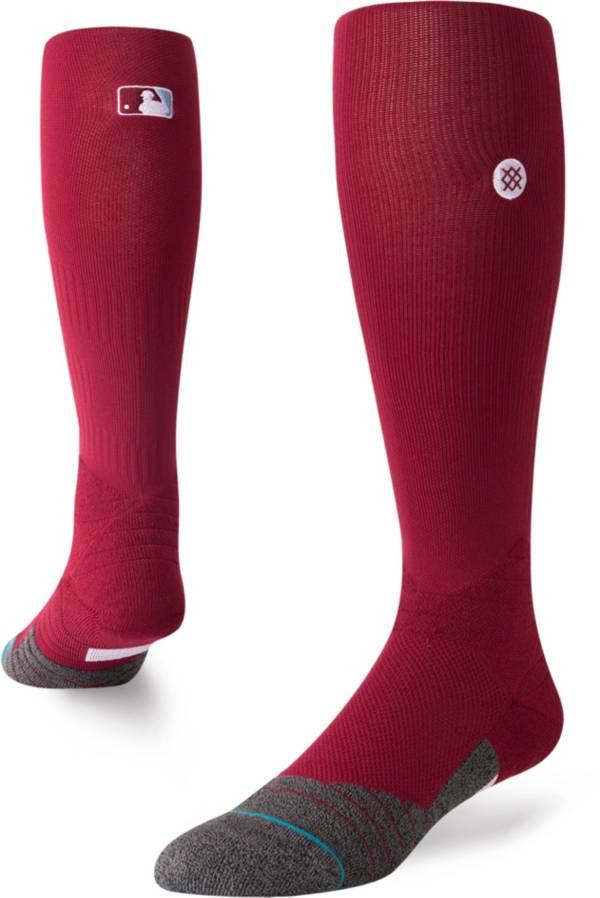 Stance MLB League Maroon Diamond Pro Crew Socks product image
