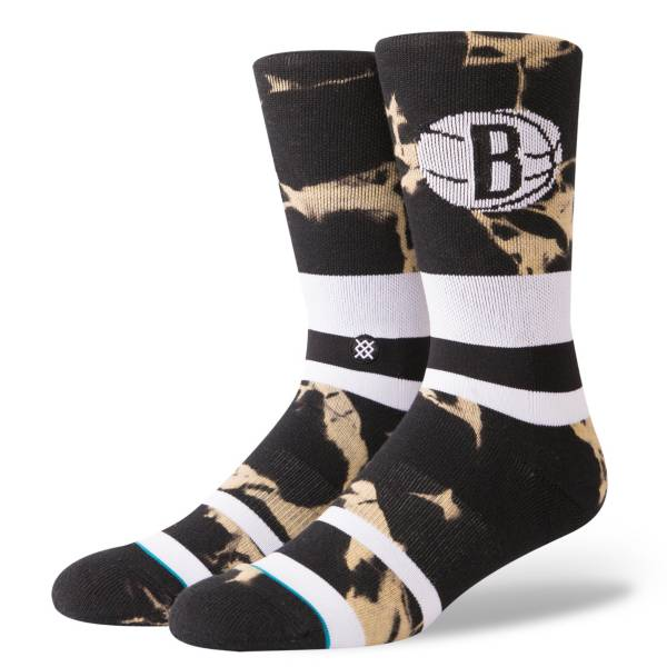 Stance Brooklyn Nets Acid Wash Jersey Crew Socks product image