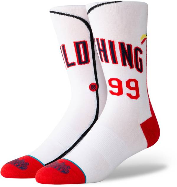 Stance Cleveland Indians Youth White Jersey Crew Socks product image