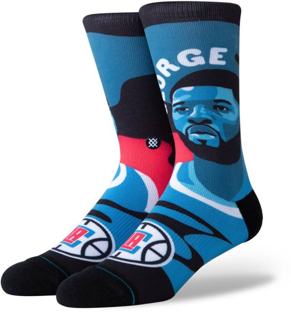 Stance Men's Los Angeles Clippers Paul George Mosaic Crew Socks product image