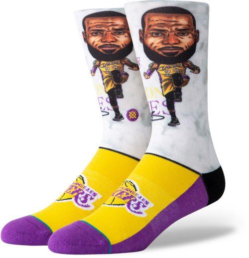2a428f51a2b Stance Los Angeles Lakers LeBron James Big Head Socks. noImageFound. 1