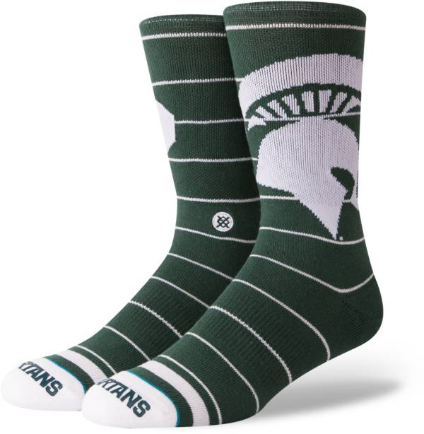 Stance Michigan State Spartans Logo Crew Socks product image