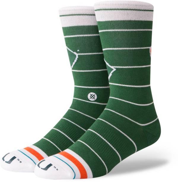 Stance Miami Hurricanes Logo Crew Socks product image