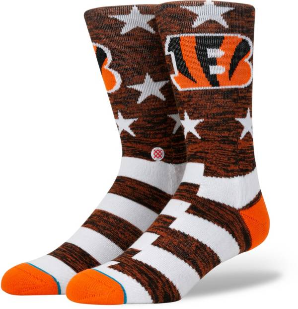 Stance Men's Cincinnati Bengals Banner Socks product image