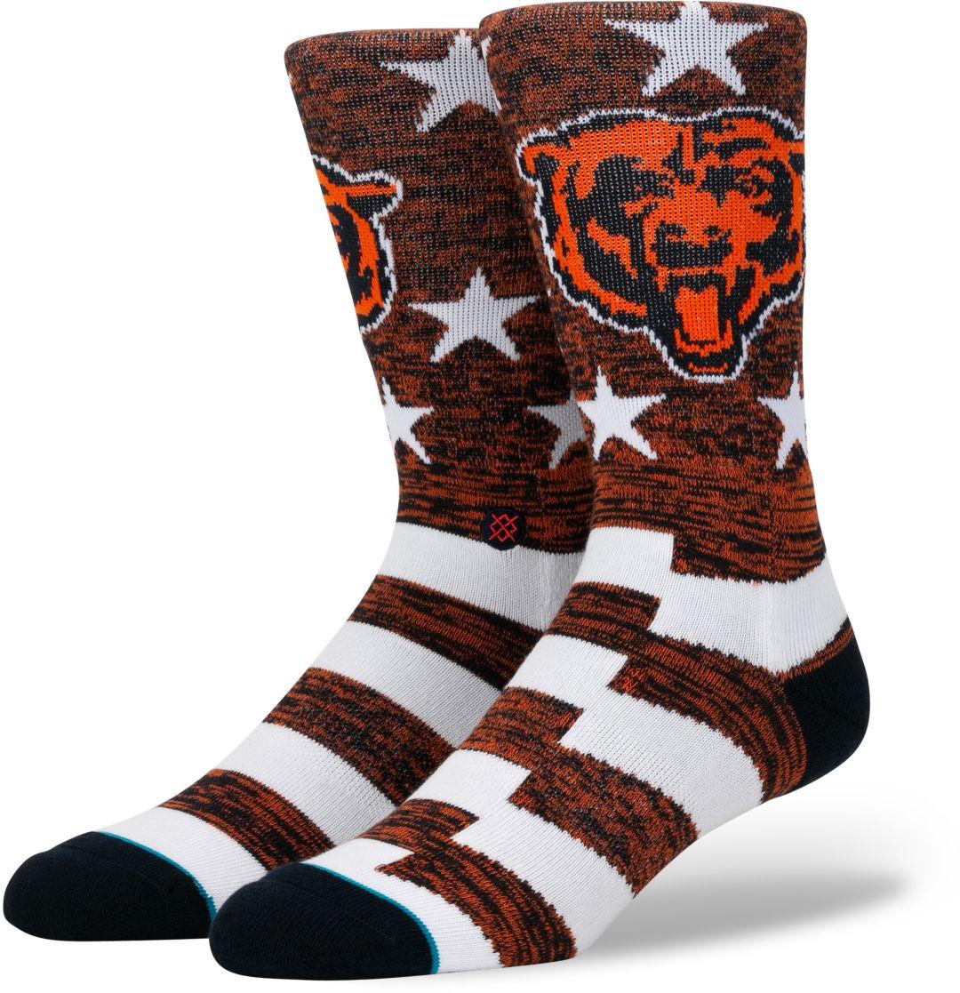 100% authentic 145d9 63fd2 Stance Men's Chicago Bears Banner Socks