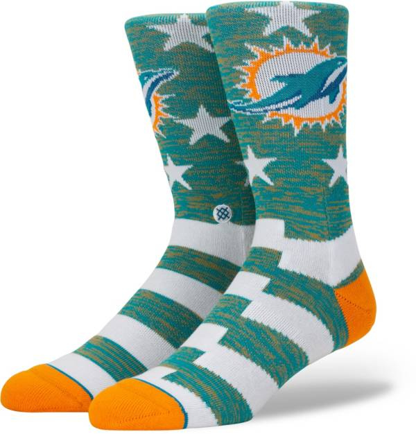 Stance Men's Miami Dolphins Banner Socks product image