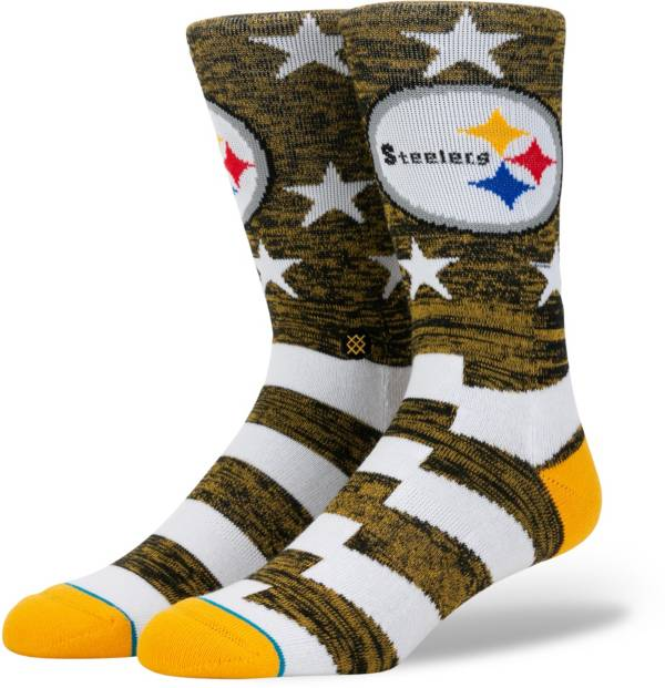 Stance Men's Pittsburgh Steelers Banner Socks product image