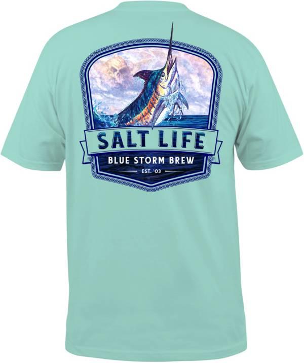 Salt Life Men's Blue Storm Brew Pocket T-Shirt product image