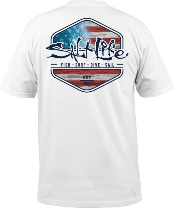 Salt Life Men's Ameriseas Short Sleeve T-Shirt product image