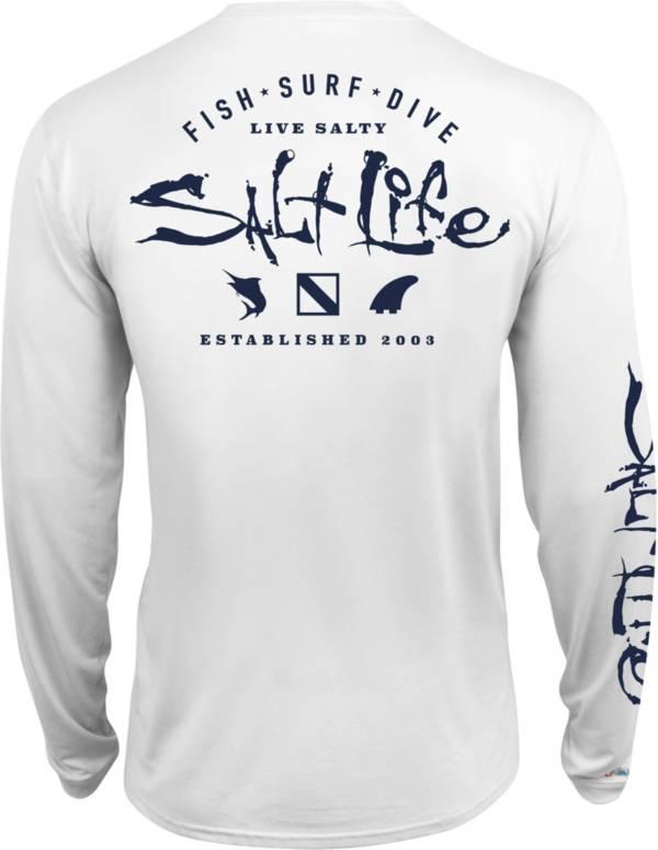 Salt Life Men's Watermans Trifecta Performance Long Sleeve Shirt product image
