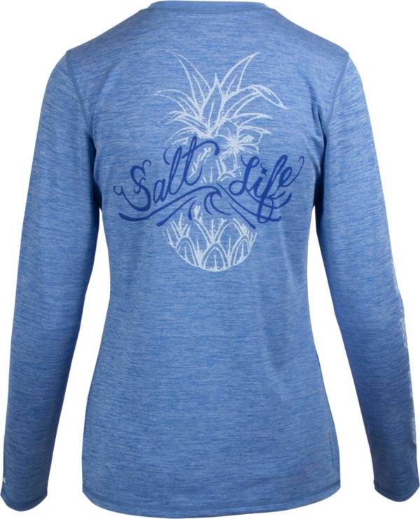 Salt Life Women's Signature Pineapple Long Sleeve UPF Shirt product image