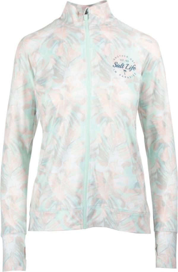 Salt Life Women's Tropical Escape Long Sleeve Full Zip Jacket product image