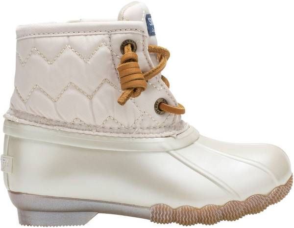 Sperry Kids' Saltwater Quilted Jr. Waterproof Duck Boots product image