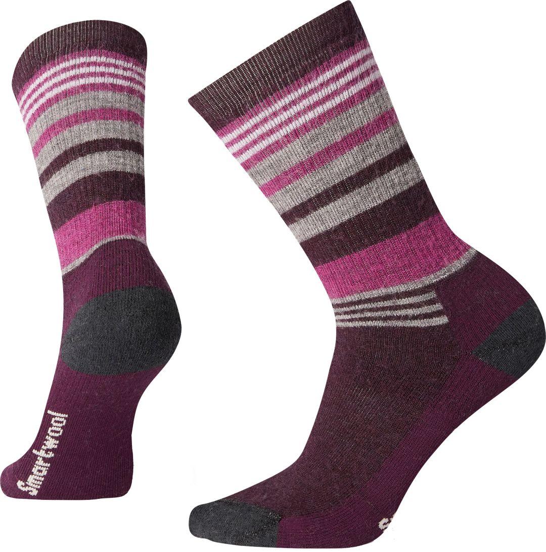 41c5c57cae2ba Smartwool Women's Striped Hike Medium Crew Socks | DICK'S Sporting Goods