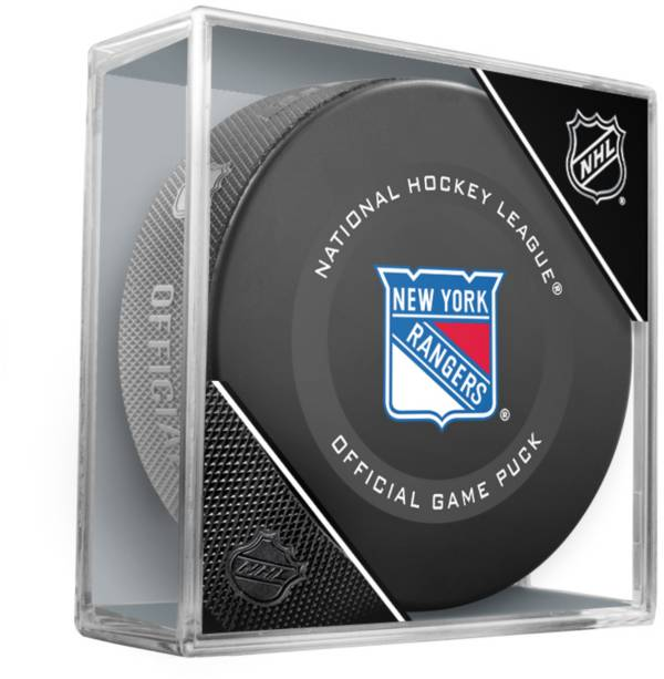 Sher-Wood New York Rangers Autograph Puck product image