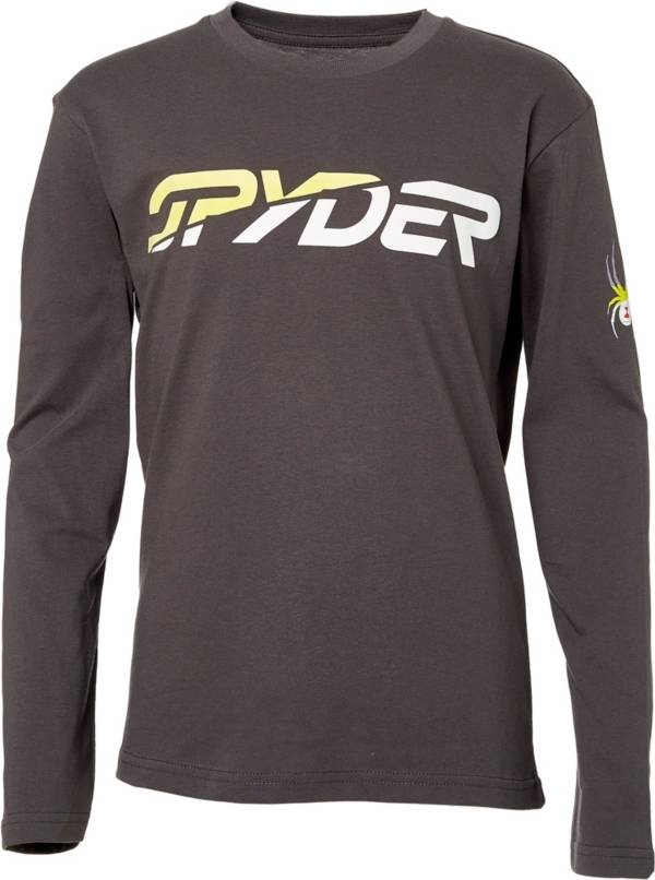 Spyder Boys' Graphic Long Sleeve T-Shirt product image