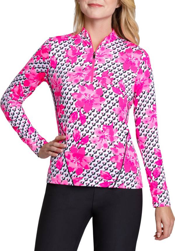 Tail Women's Long Sleeve Mini Mock Golf Top product image