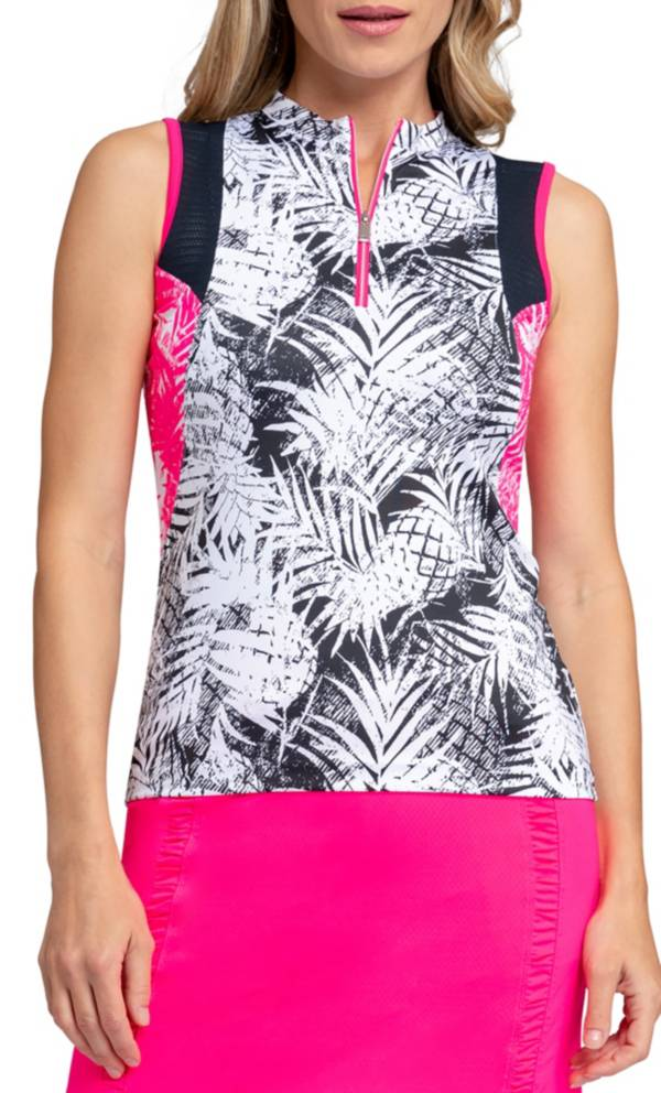 Tail Women's Tropical Sleeveless Golf Polo product image