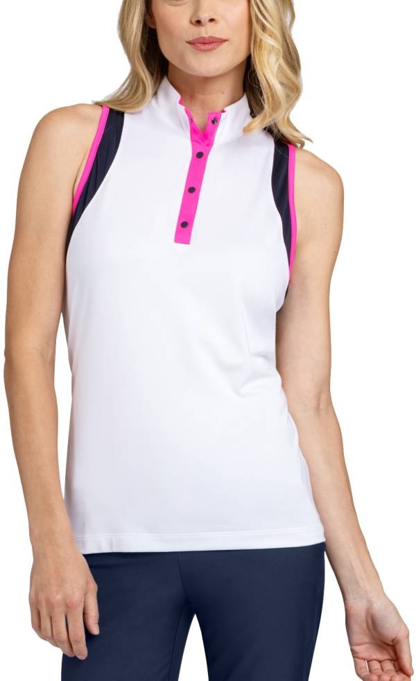 Tail Women's Sleeveless Convertible Collar Racer Back Golf Top product image