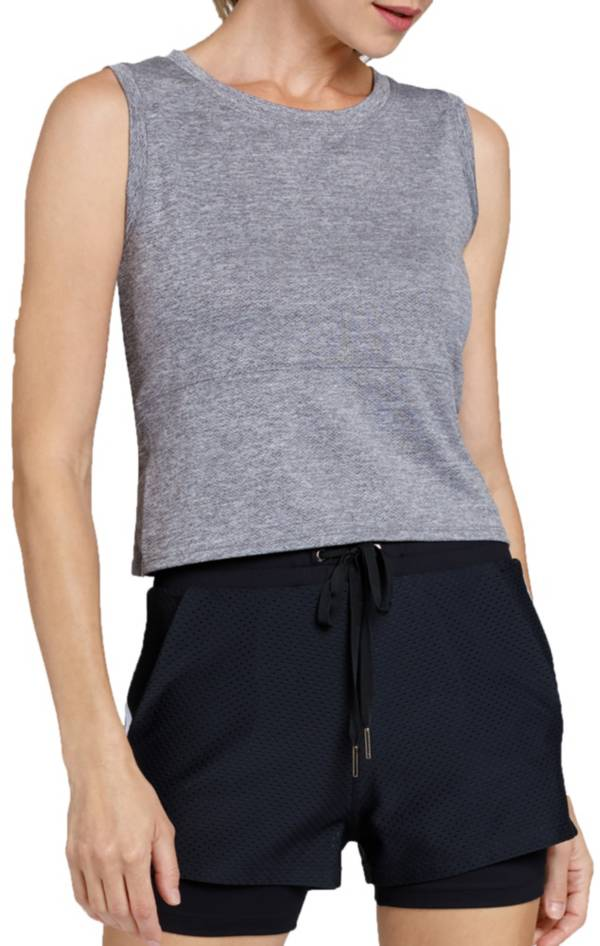 Tail Women's Saniyah Knotted Back Tennis Crop Top product image