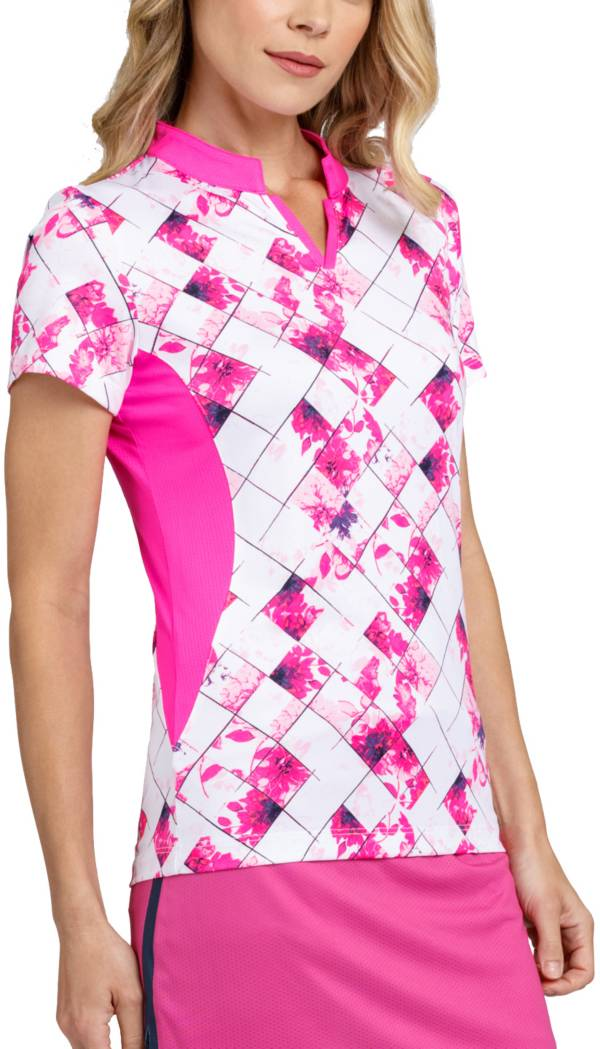 Tail Women's Short Sleeve Band Collar Golf Top product image