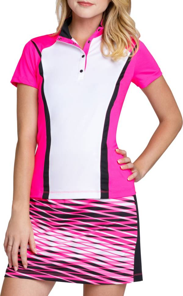 Tail Women's Short Sleeve Convertible Collar Golf Polo – Extended Sizes product image