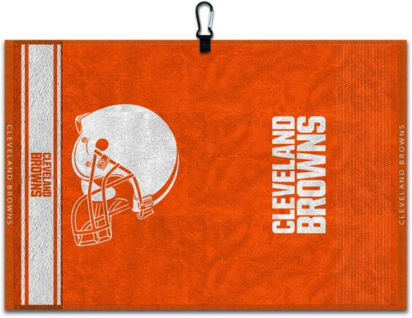 Team Effort Cleveland Browns Embroidered Face-Club Golf Towel product image