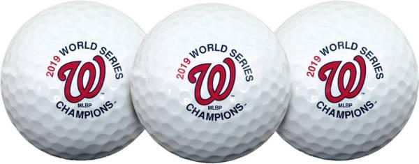 Team Effort 2019 World Series Champions Washington Nationals Golf Balls - 3 Pack product image