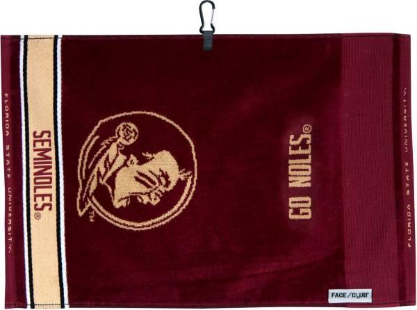 Team Effort Florida State Seminoles Face/Club Jacquard Golf Towel product image