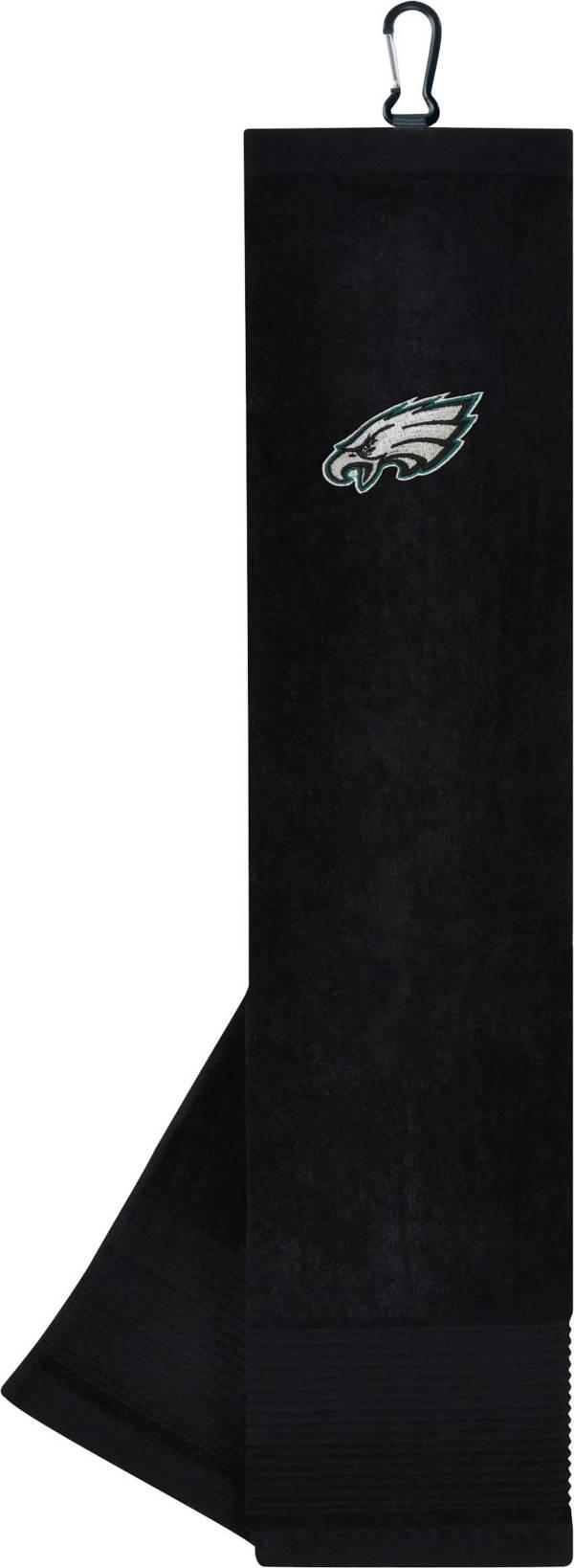 Team Effort Philadelphia Eagles Embroidered Face-Club Golf Towel product image
