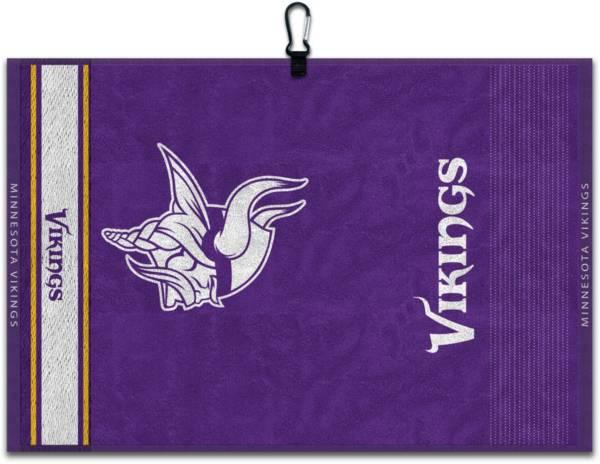 Team Effort Minnesota Vikings Embroidered Face-Club Golf Towel product image