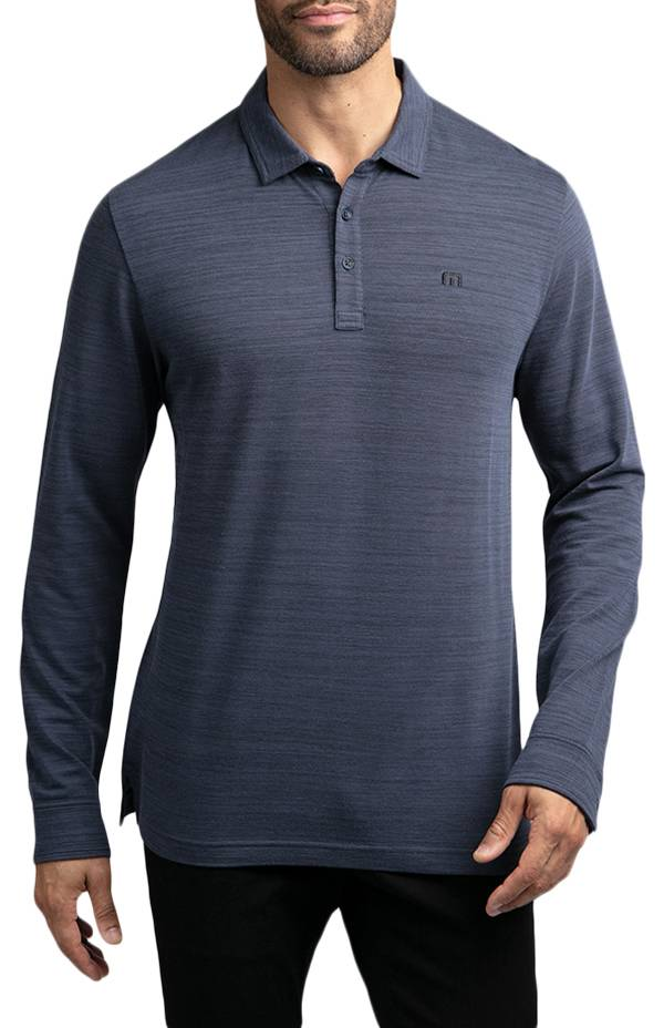 TravisMathew Men's Kawloon Long Sleeve Golf Polo product image