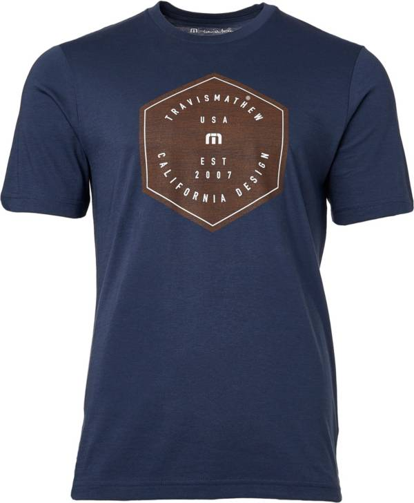 TravisMathew Men's End Of The Line Golf T-Shirt product image