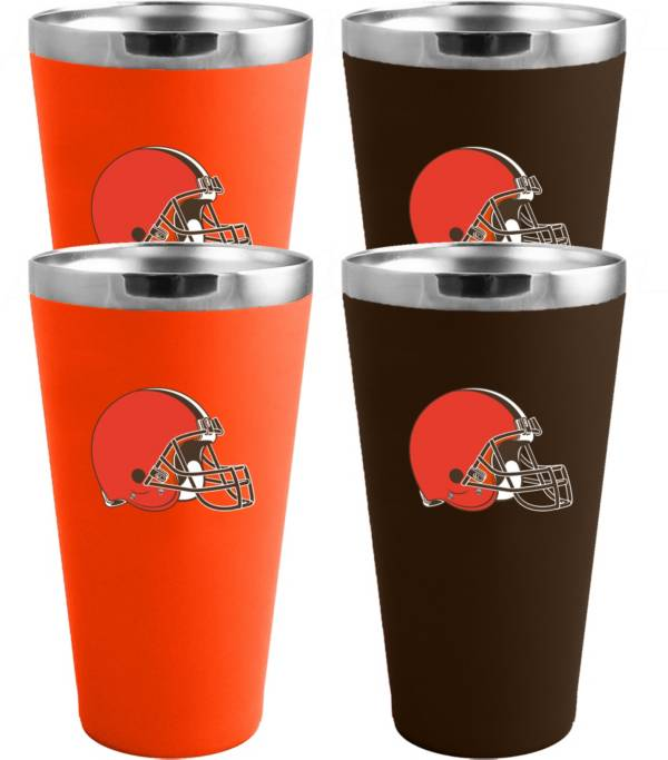 Memory Company Cleveland Browns 4 Pack Drinkware Set product image