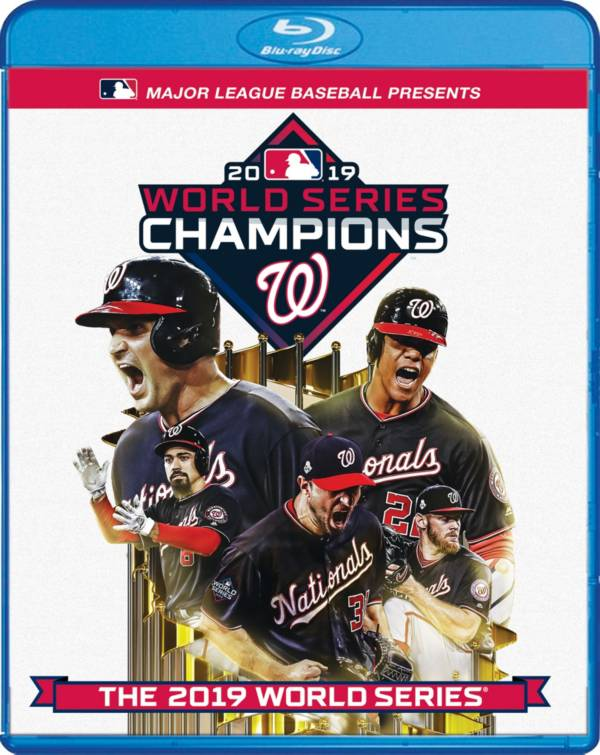 Team Marketing 2019 World Series Champions Washington Nationals DVD & Blu-Ray Combo product image