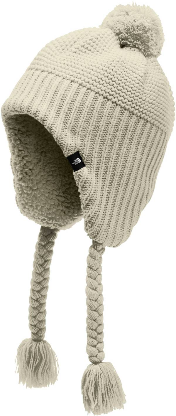 The North Face Girls' Purrl Stitch Earflap Beanie product image