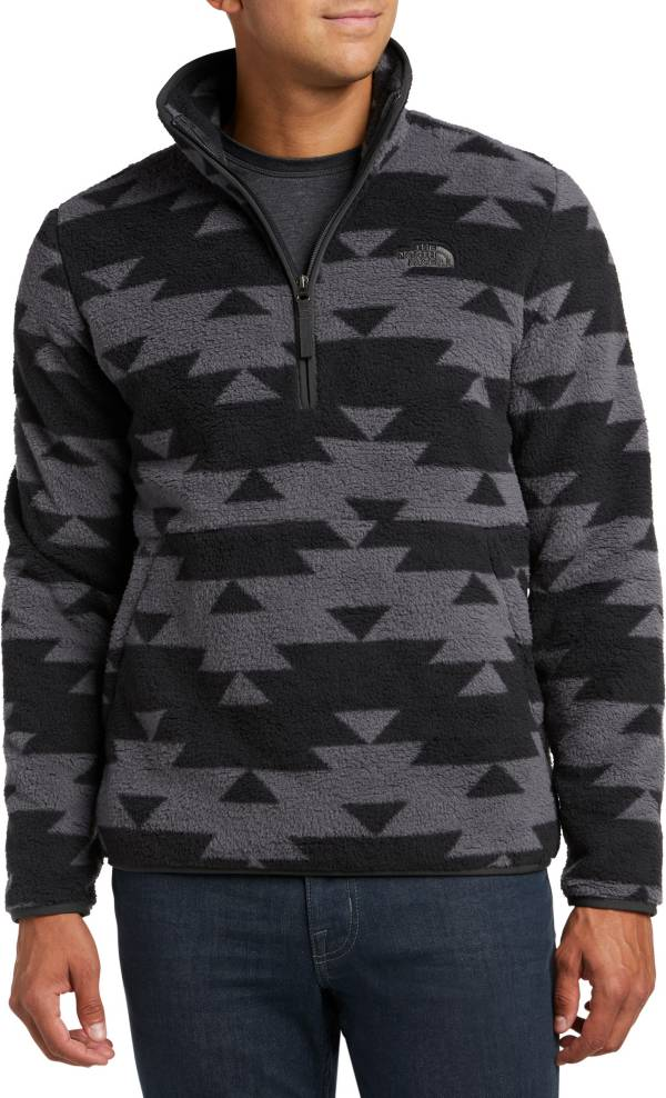 The North Face Men's Dunraven Novelty Sherpa ¼ Zip Fleece Jacket product image