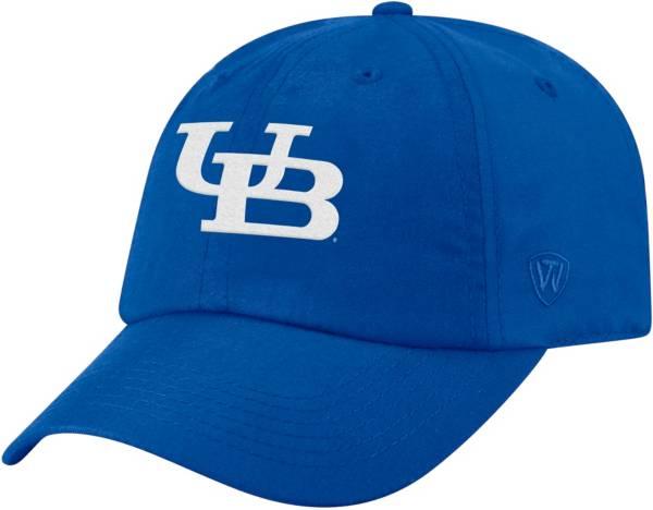 Top of the World Men's Buffalo Bulls Blue Staple Adjustable Hat product image