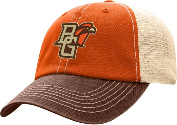 Top of the World Men's Bowling Green Falcons Orange/White Off Road Adjustable Hat product image