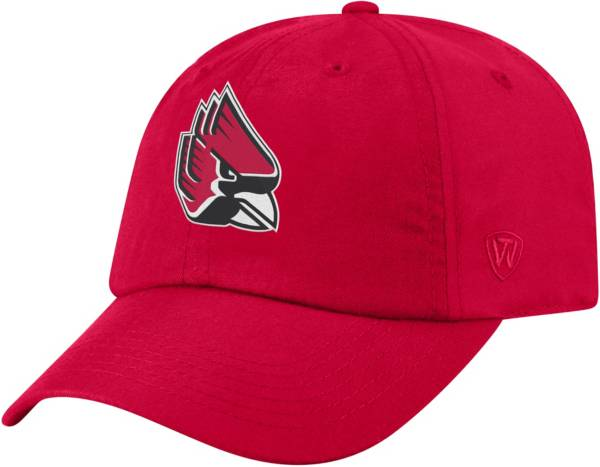 Top of the World Men's Ball State Cardinals Cardinal Staple Adjustable Hat product image