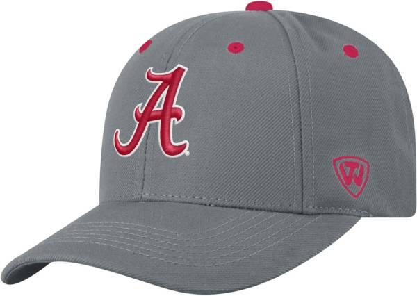Top of the World Men's Alabama Crimson Tide Grey Triple Threat Adjustable Hat product image